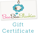 $25 Gift Certificate-baabaablankies gift certificate